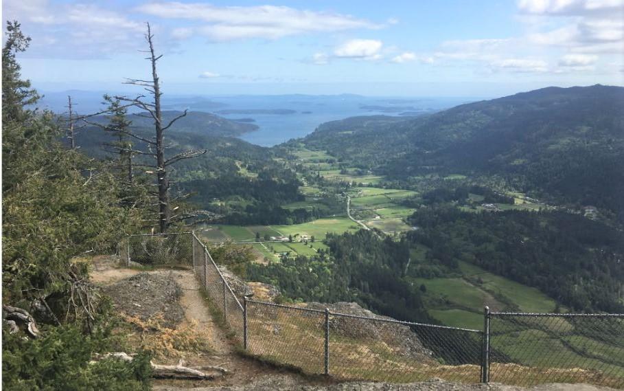 Enjoy Fabulous Views on Mount Maxwell, Salt Spring Island