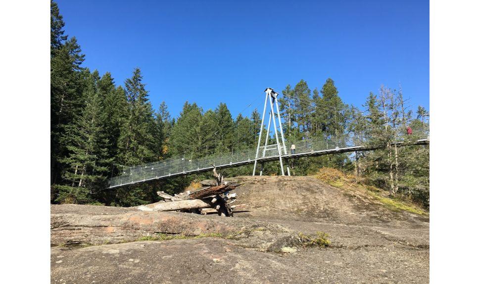 Top Bridge Park offers nature trails